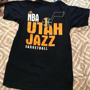 NBA Utah Jazz Basketball Tee Shirt New